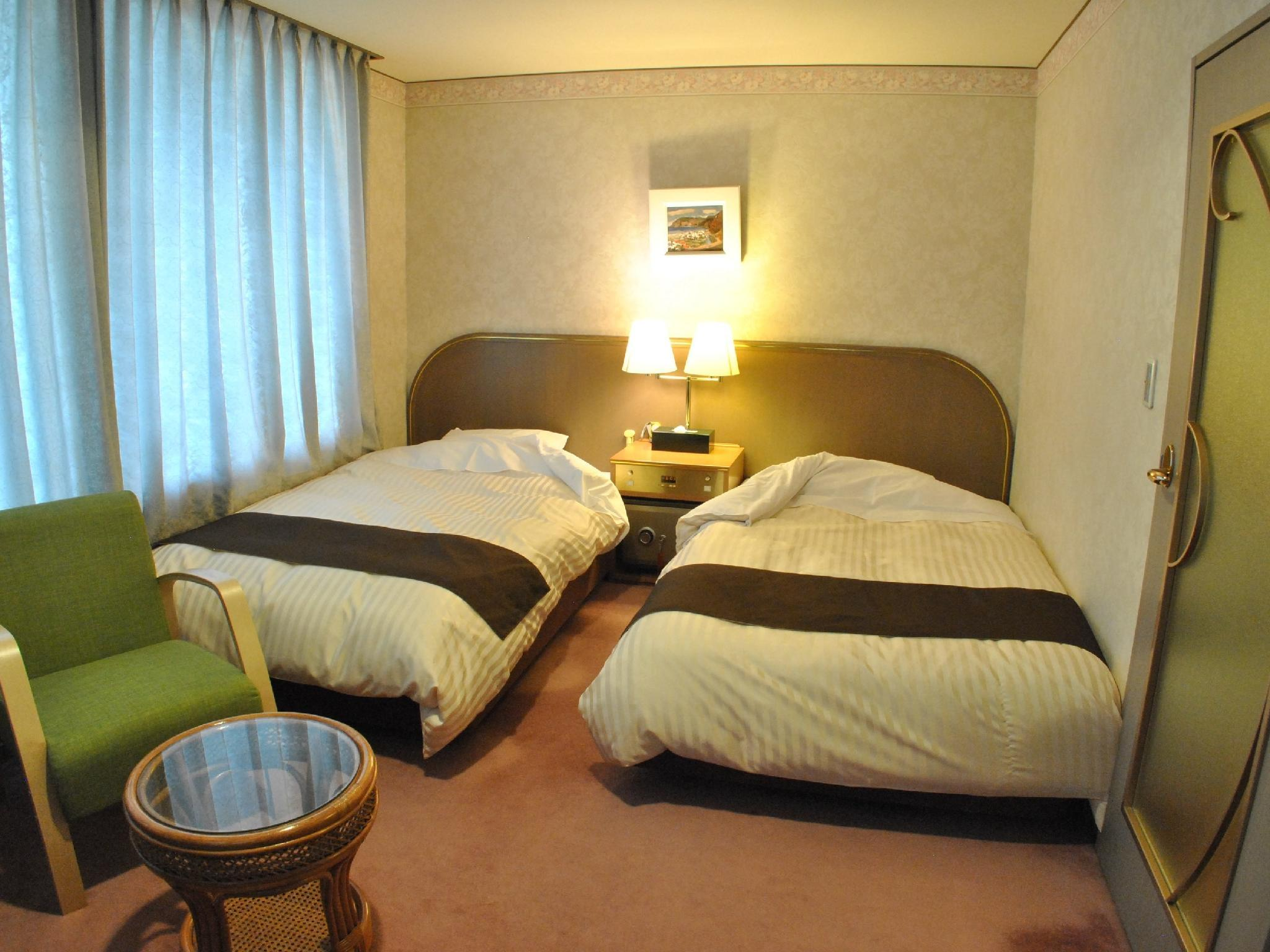 Twin Room (Main Building, South Wing, or Central Wing) *Allocated on arrival