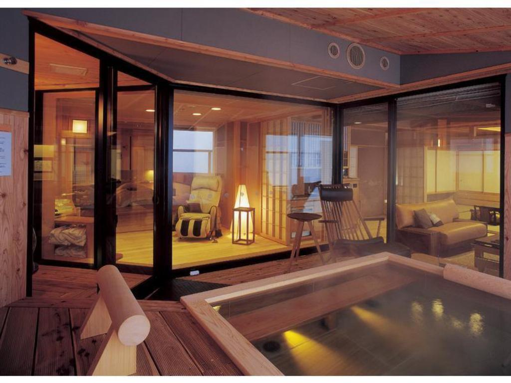 Special Suite with Open-air Bath (Ama no Za Type) - ห้องพัก Akan Tsuruga Besso Hinanoza