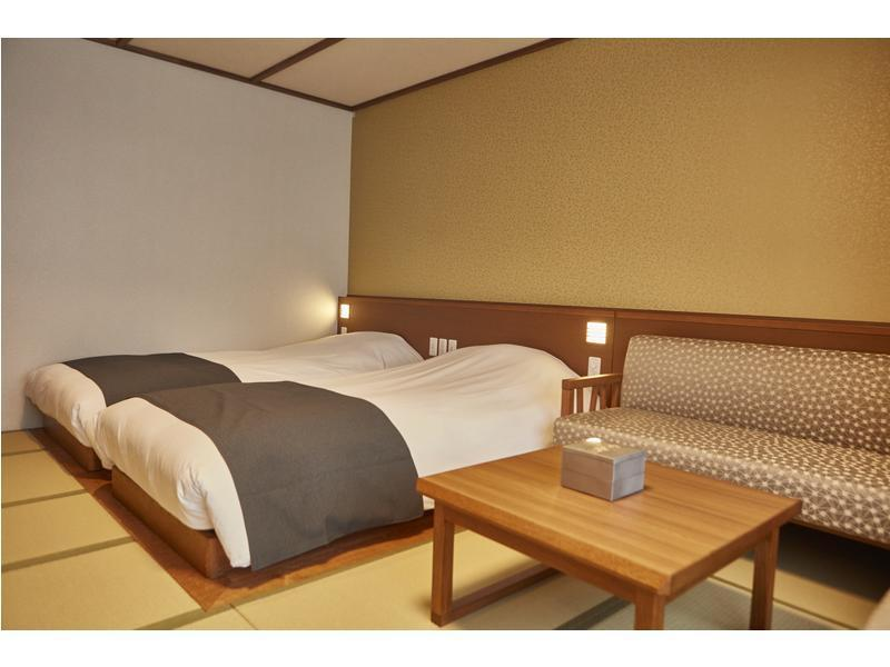 다다미 객실 (Japanese-style Semi-suite (4 Beds) *Has bath)
