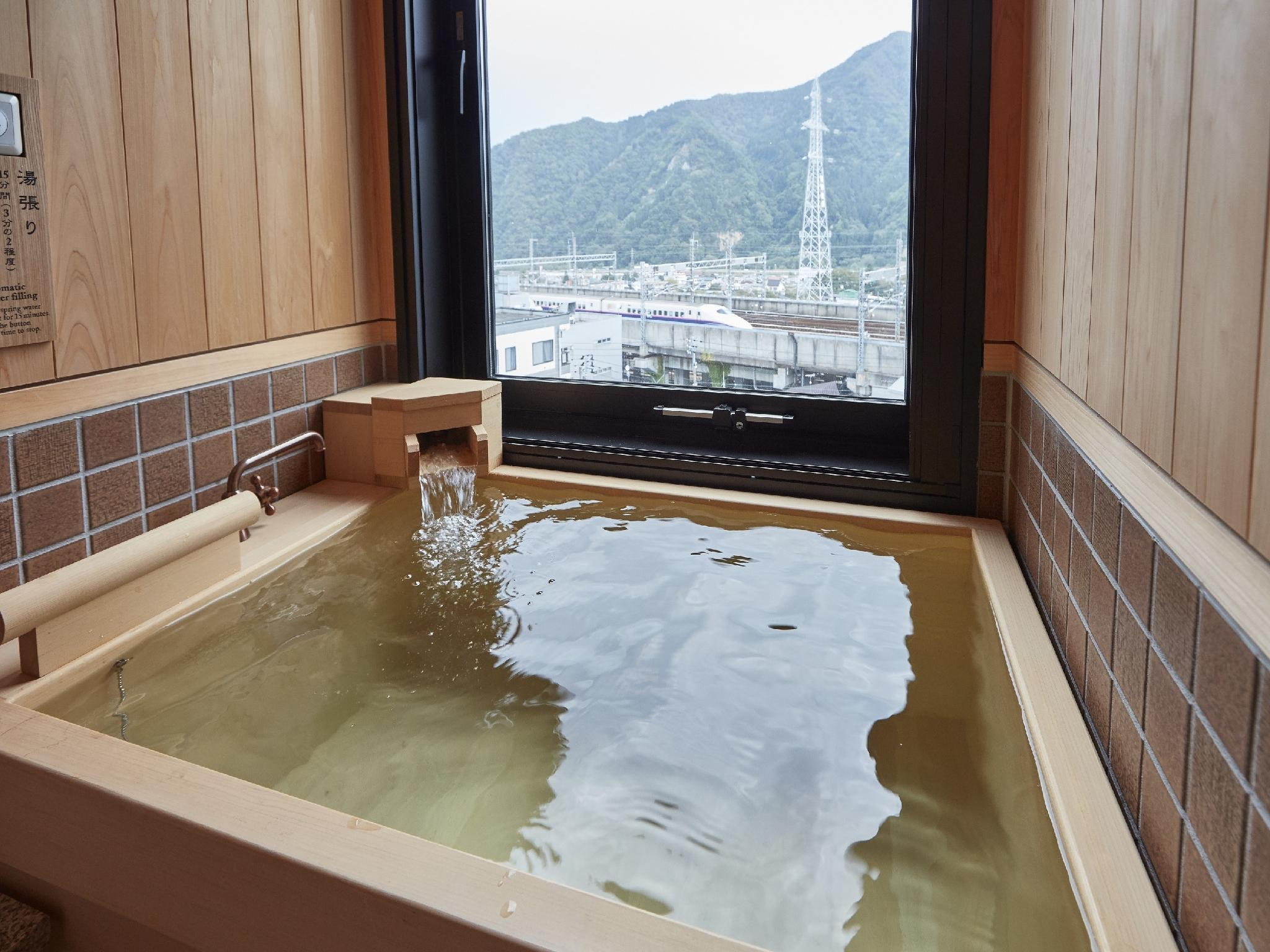 和式房 (附床) (Japanese-style Triple Room with Natural Hot Spring Bath)