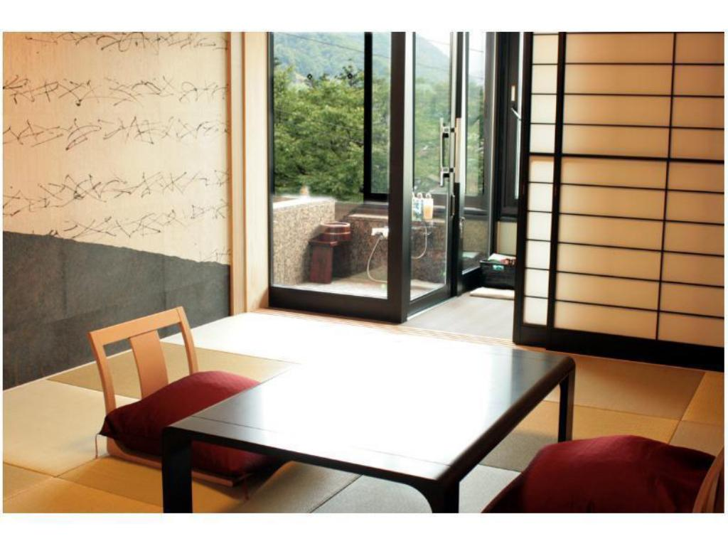Japanese-style Room with Open-air Bath (Yunosaka Wing) - Guestroom