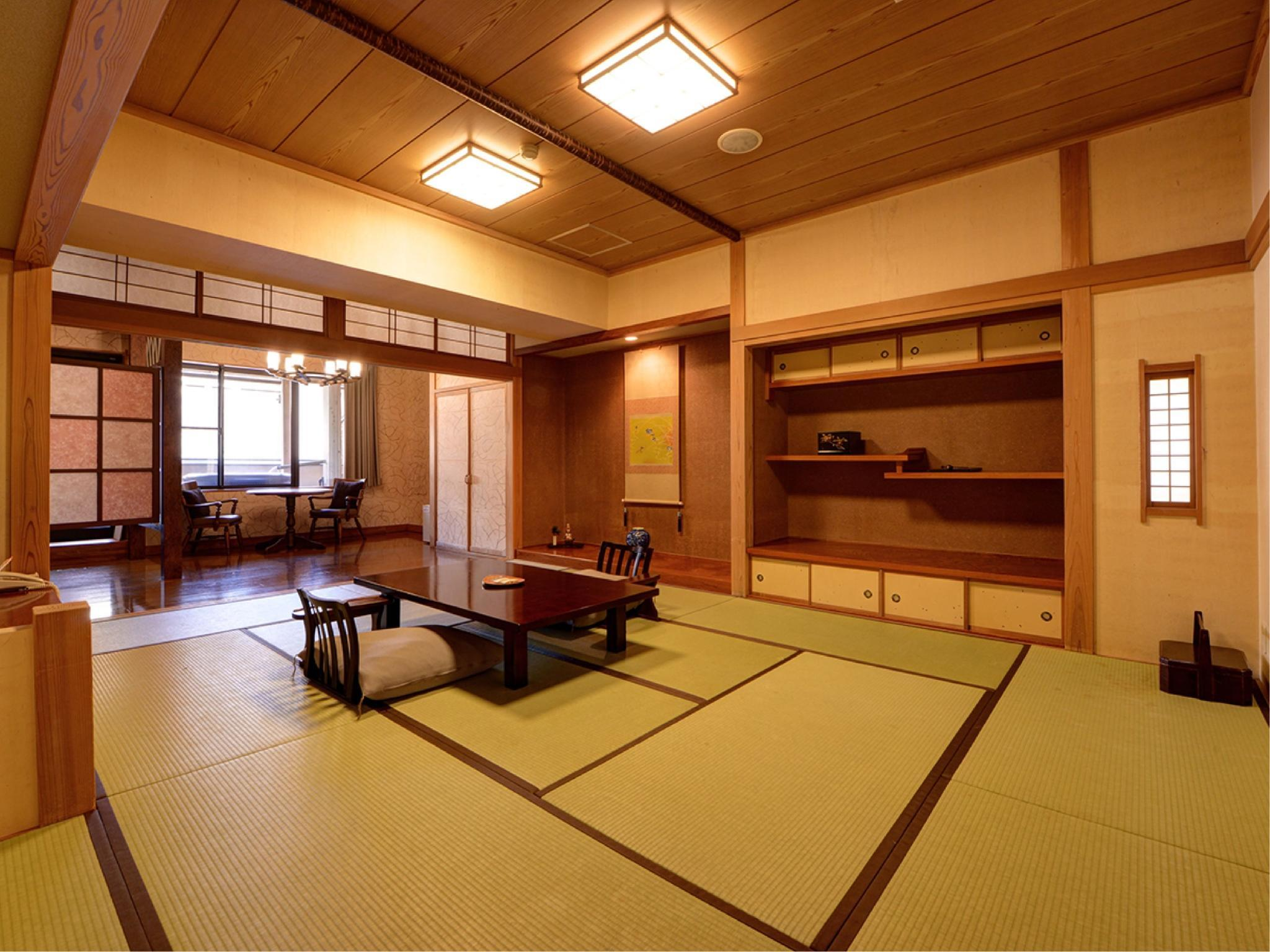 Special Japanese-style Room with Open-air Bath (Kaden Type, Yutoge Wing)