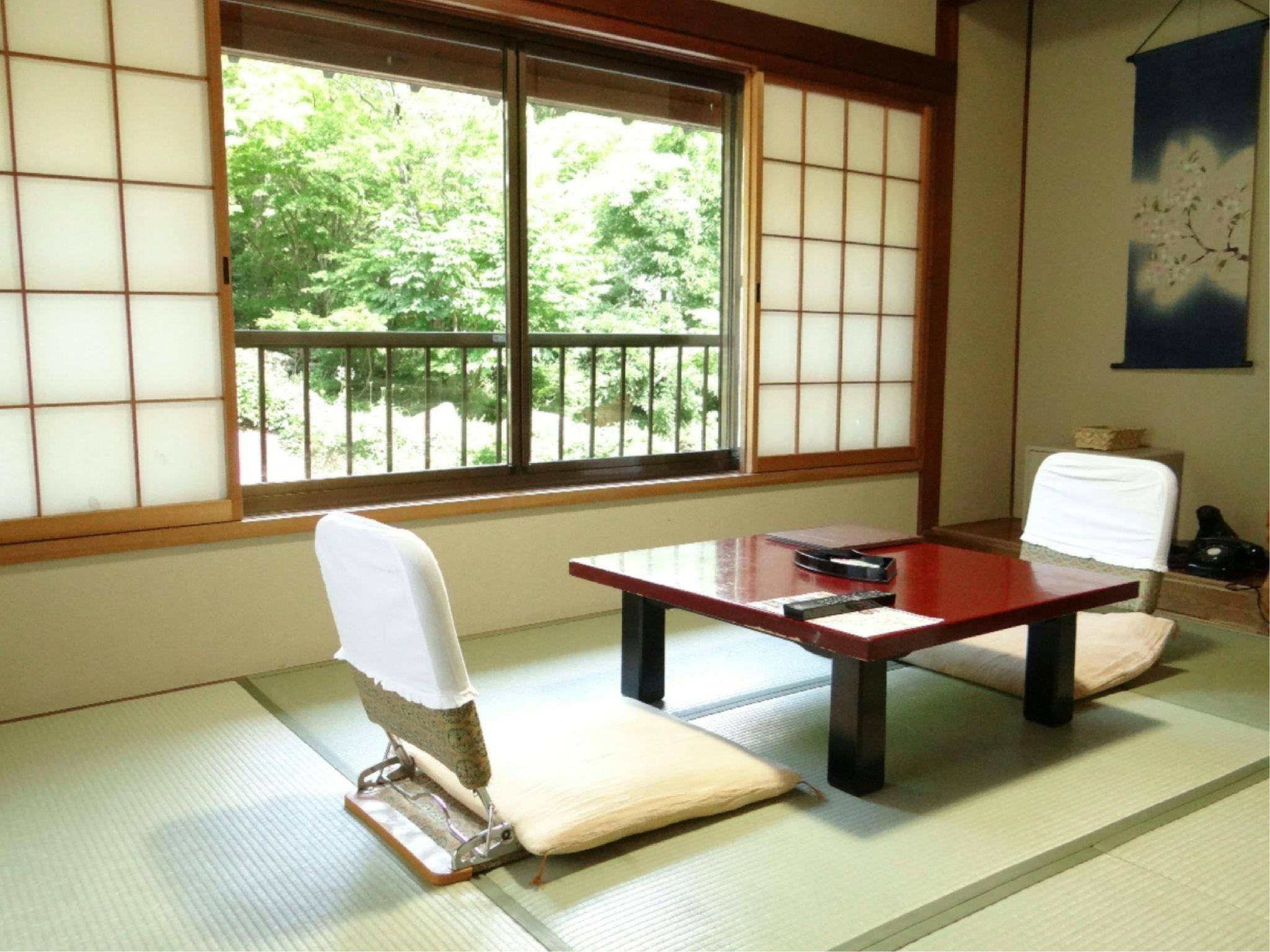 第一别馆 和式房(无浴室厕所) (Japanese-style Room (Annex No. 1) *No bath or toilet in room)
