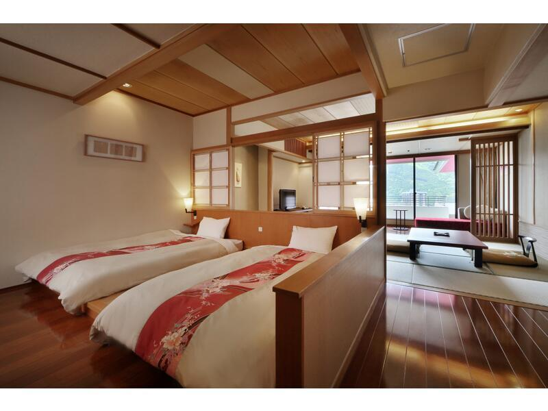 Japanese/Western-style Room (2 Beds, Hiro Floor, Main Building)