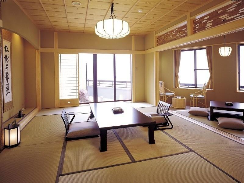 Japanese-style Room with Open-air Bath (Special Floor, Nonohana-tei Wing)