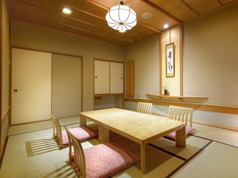 和式房+露天风吕 (2020年4月1日起禁烟) (Japanese-style Room with Open-air Bath*Non-smoking from 2020/4/1)