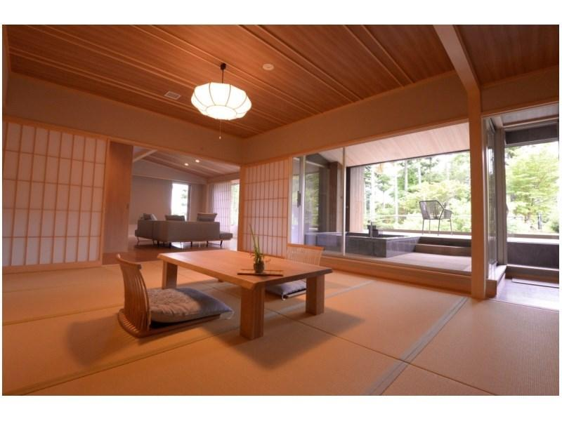 다다미 침대 객실(JIN/거실) (Japanese/Western-style Room with Living Room (Jin Type))