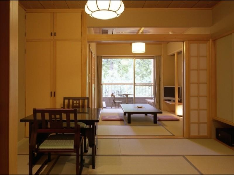本館 和式房+露天風呂 (Japanese-style Room with Open-air Bath (Main Building))