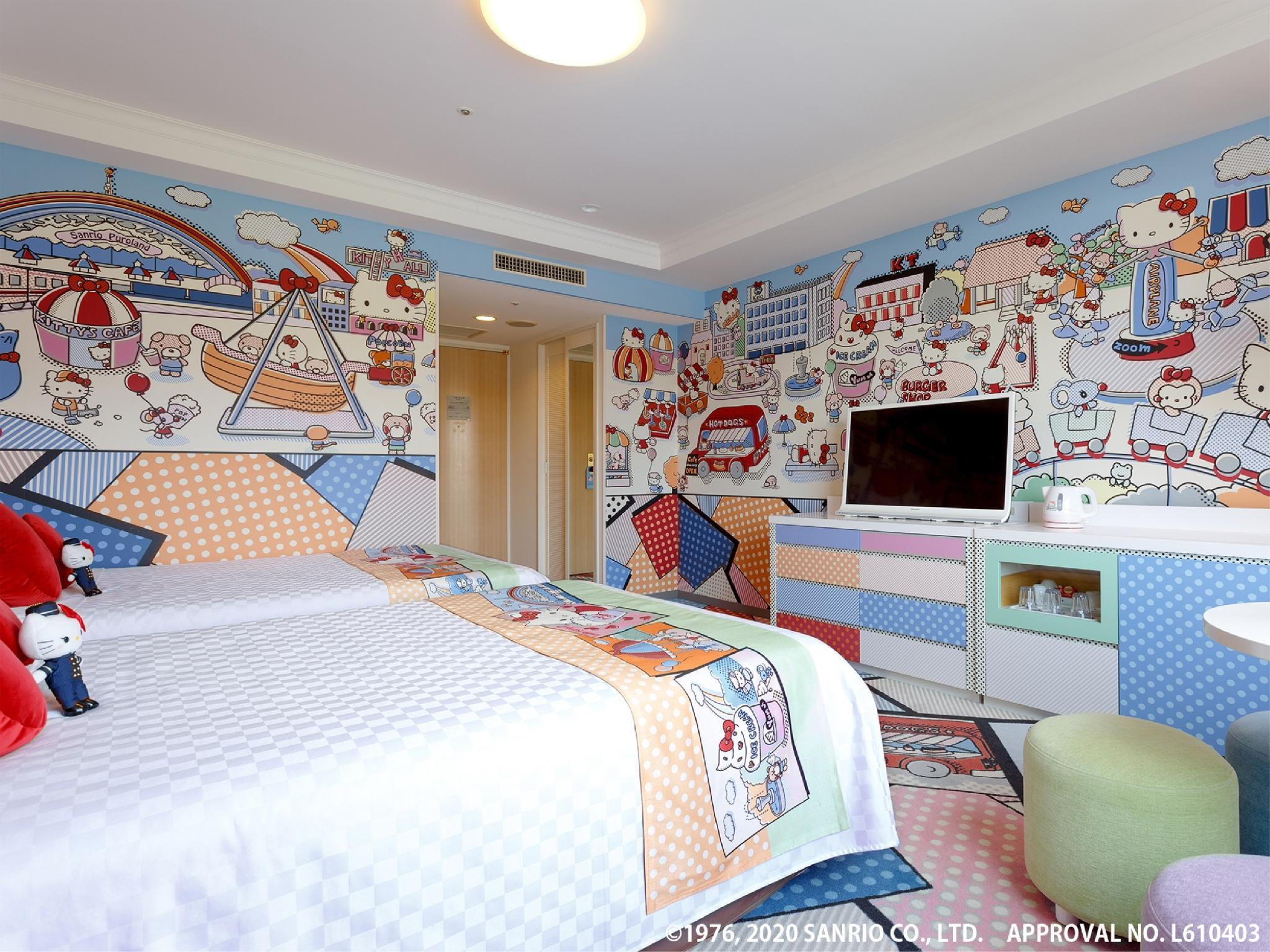 Hello Kitty Twin Room (Kitty Town)