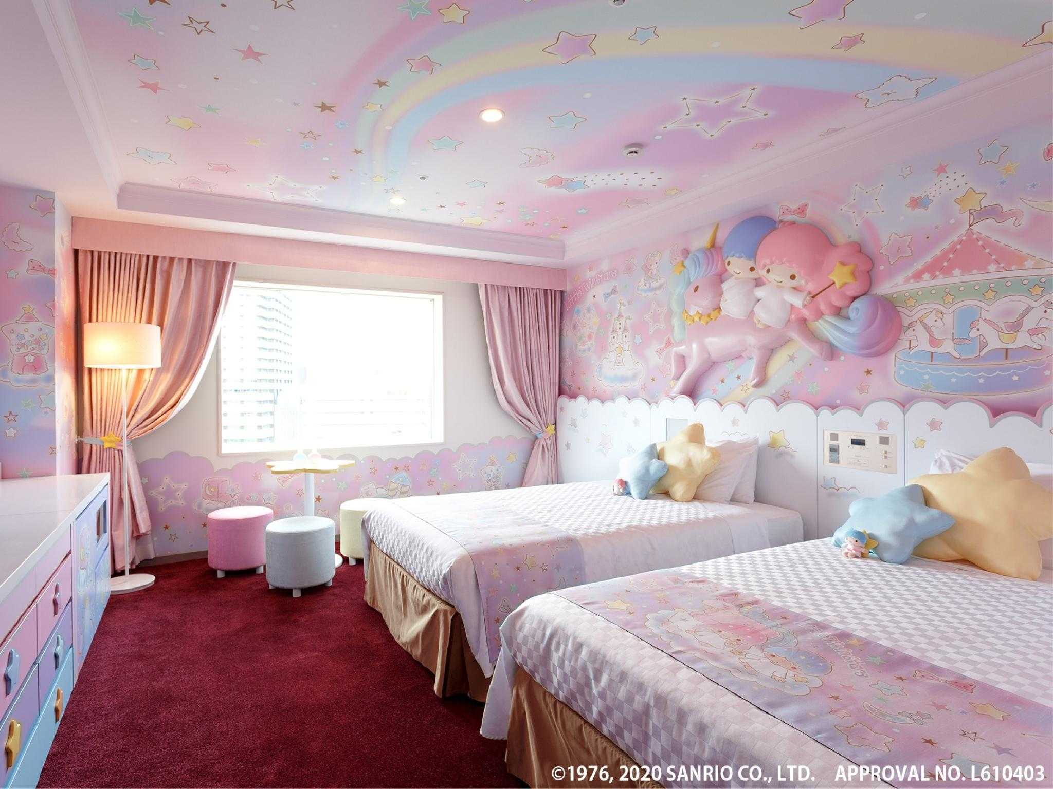 Little Twin Stars客房 (Little Twin Stars Room)