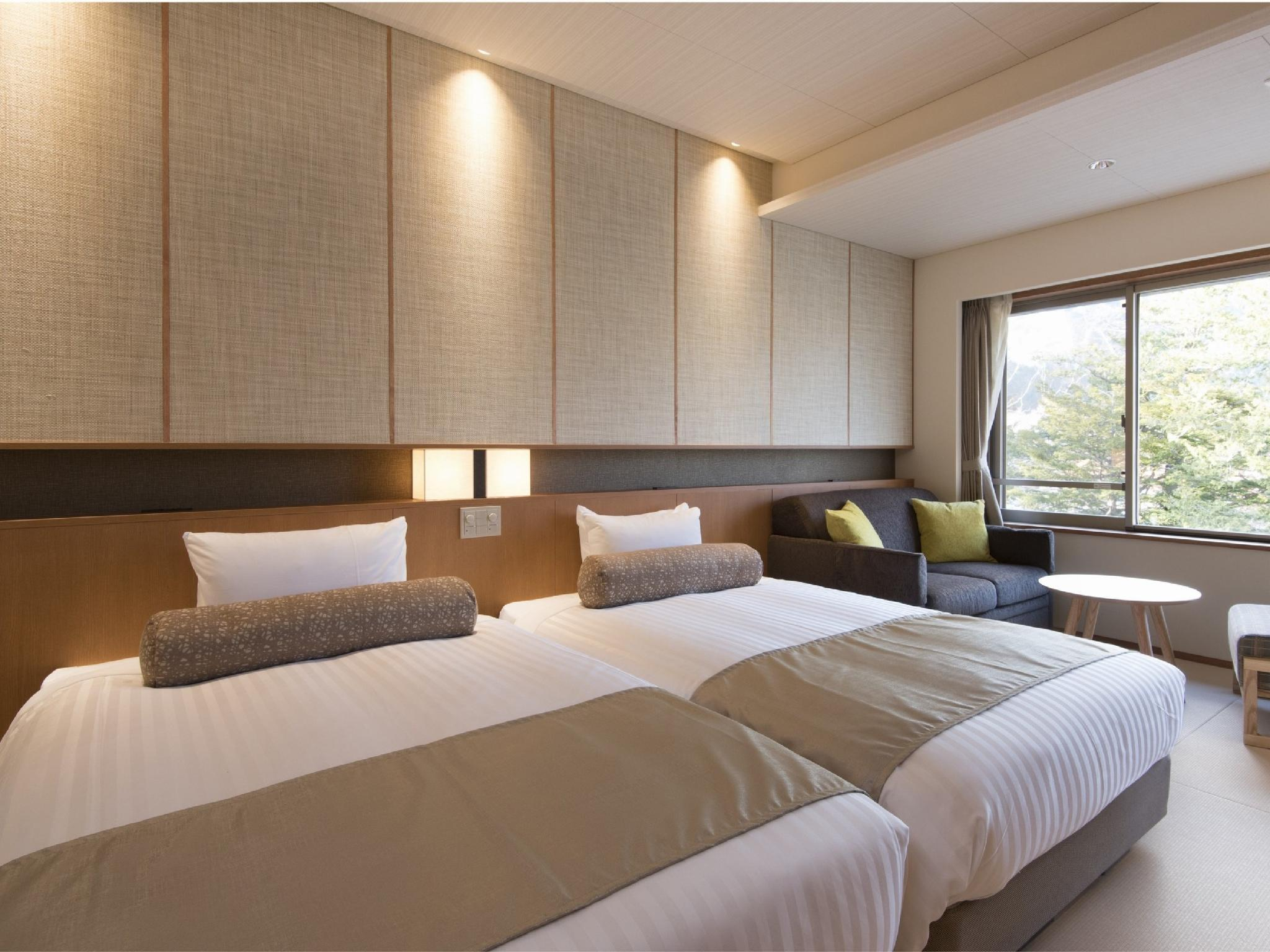 新改裝雙人雙床房 (Twin Room *Refurbished room)