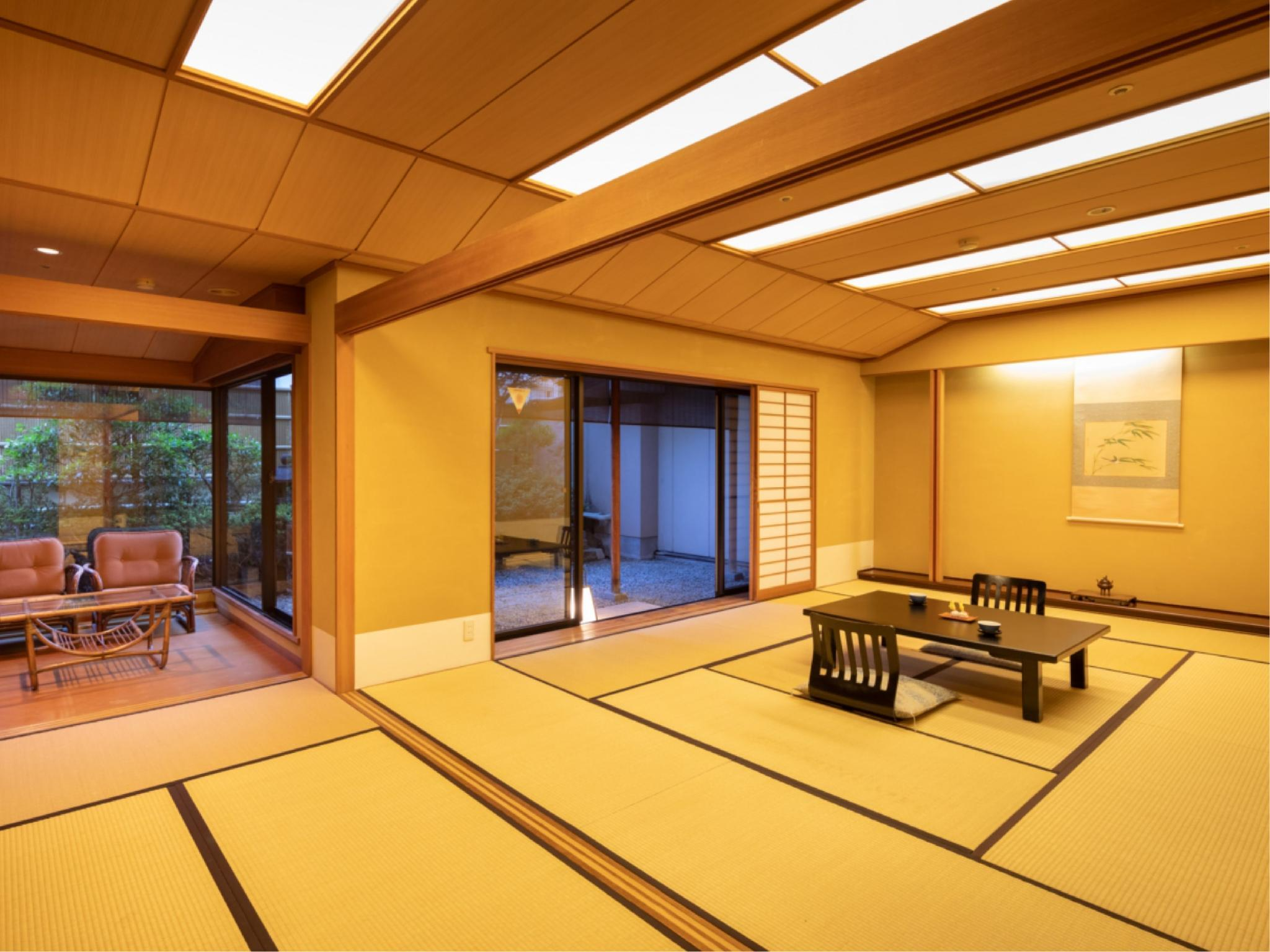 Japanese-style Room with Reception Room & Garden