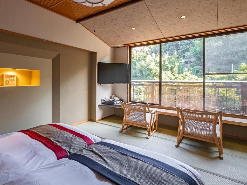 Japanese Style Room Type A - Guestroom Manyou no Sato Hakuunso