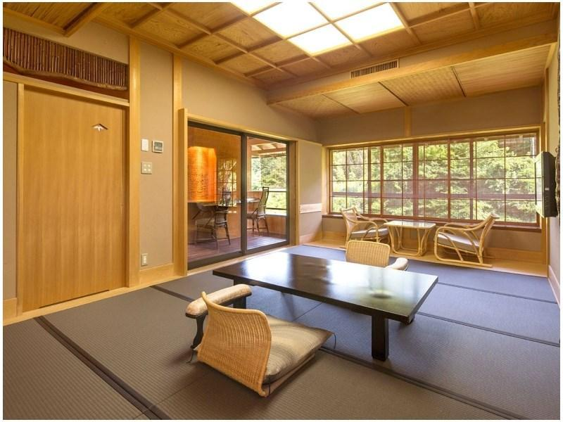 Japanese-style Room with Open-air Hot Spring Bath (Manyo Type D)