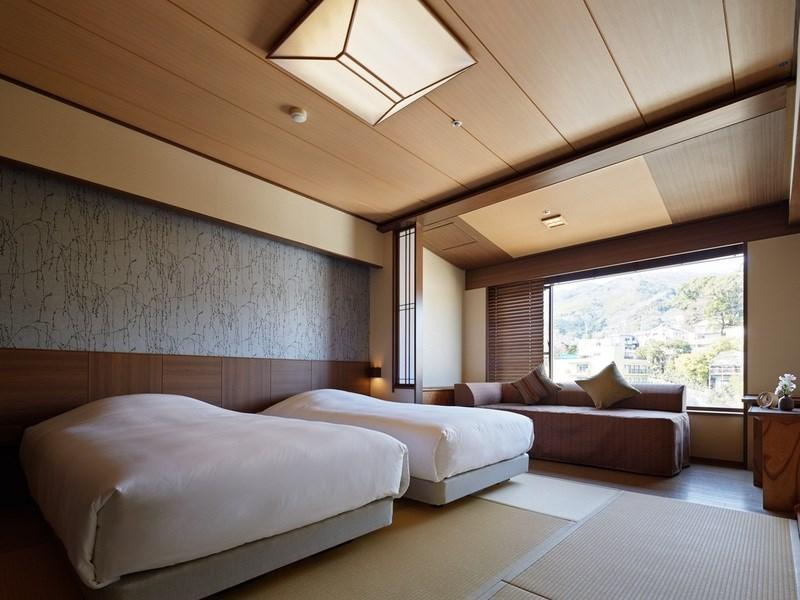 Standard Japanese-style Room with Bed(s) *No bath in room
