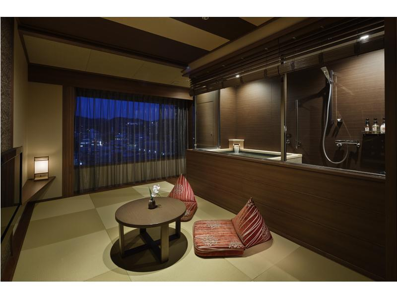 Premier Japanese/Western-style Room with Hot Spring Bath (2 Beds)