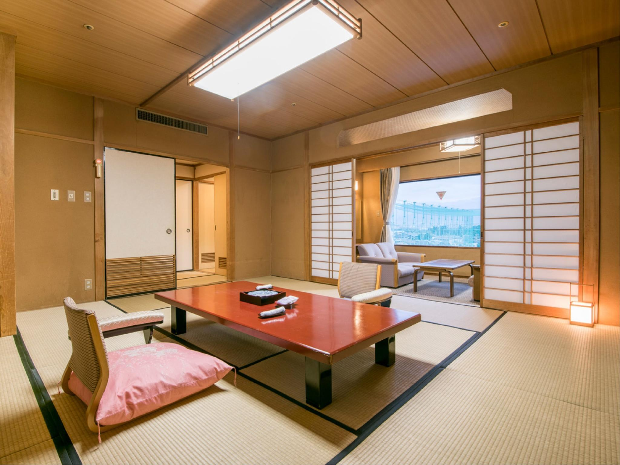 本館 和室|12畳 (Japanese Style Room Main Building)