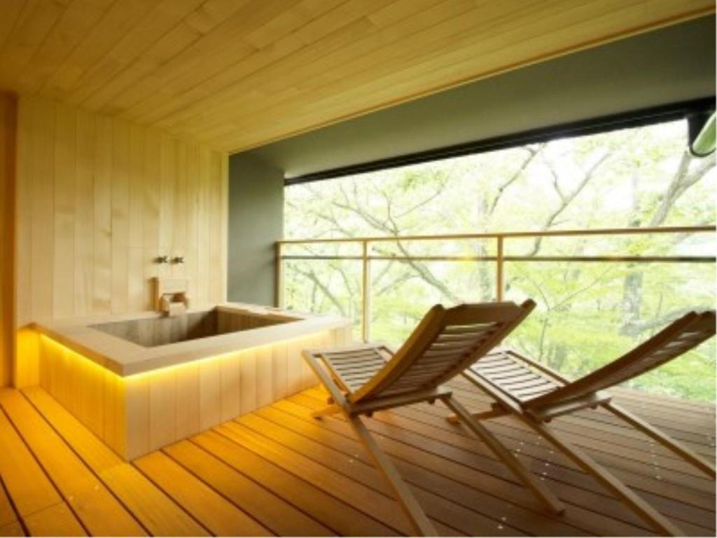 Japanese/Western-style Room with Open-air Bath (2 Beds) - Guestroom