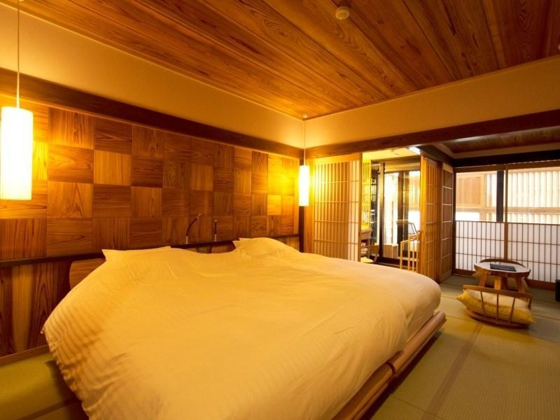 Japanese-style Room with Open-air Bath (2 Beds)