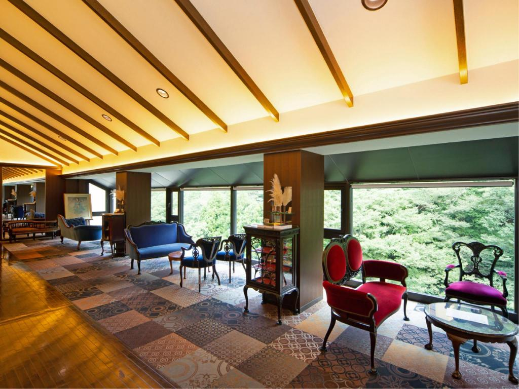 Lobby Art & Music Spa Resort Hotel Manatei Hakone