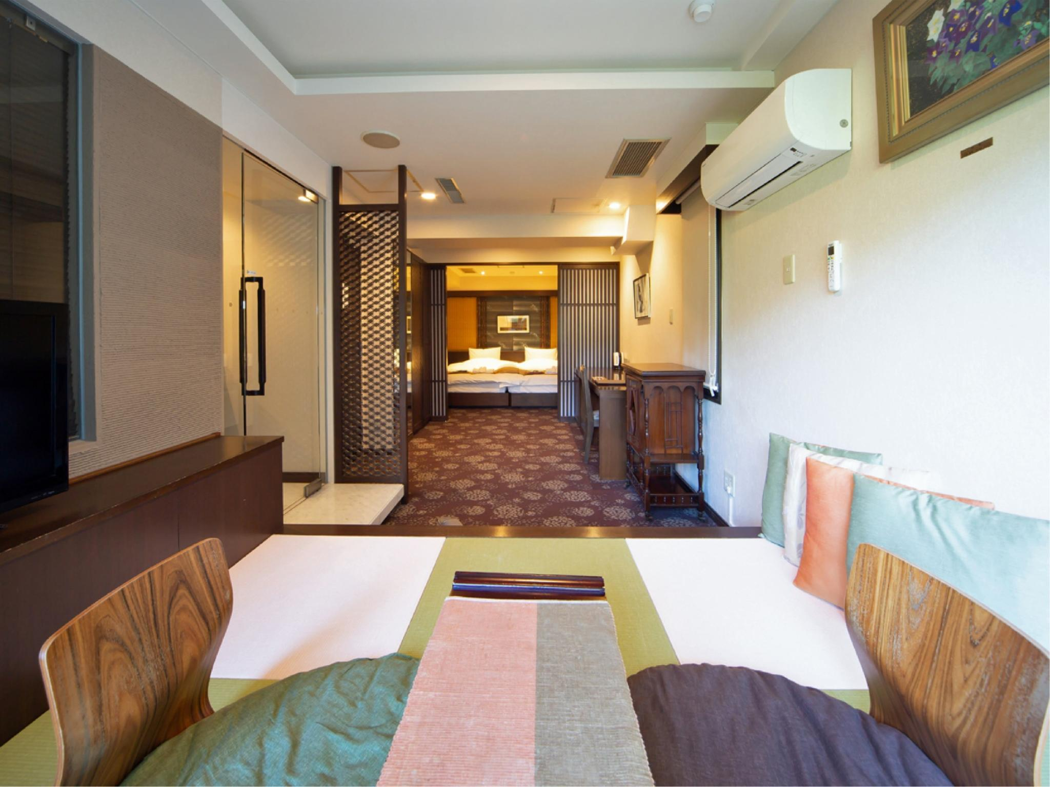 Suite with Semi Open-air Hot Spring Bath or Cypress Bath or Granite Bath