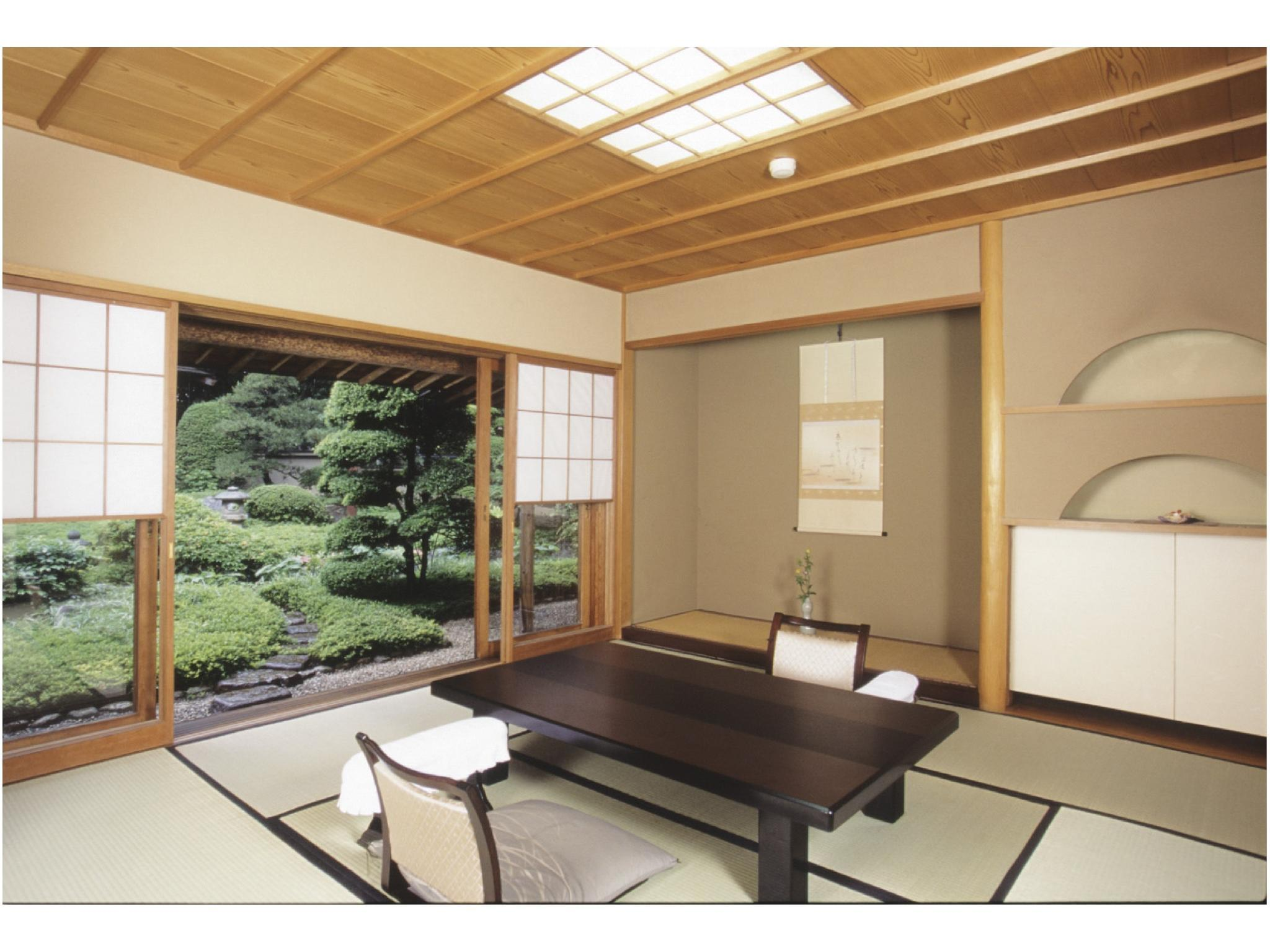露天風呂付特別室 (Detached Special Room with Open-air Bath (Annex))