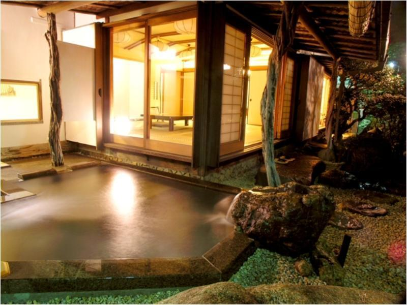 独立房S(和式房+露天风吕) (Detached Japanese-style Room with Open-air Bath (Type S))