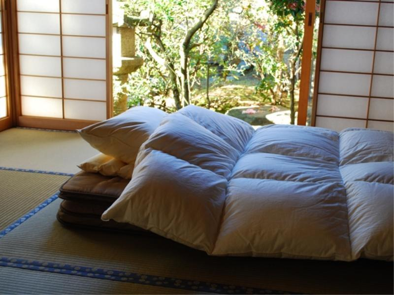 Detached Japanese-style Room with Open-air Bath (Type A)
