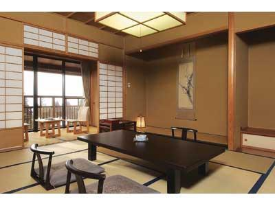 本館 和室 |12.5畳+踏込 (Japanese Style Room Main Building)