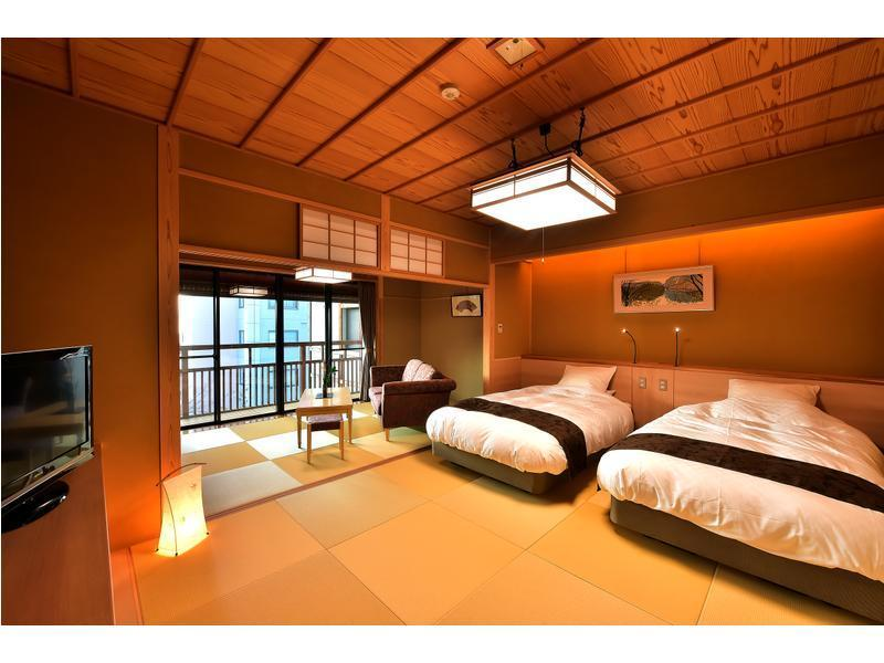 本館 モダン和室 2ベッド |16畳+踏込 (Modern Japanese-style Room (2 Beds, Main Building))