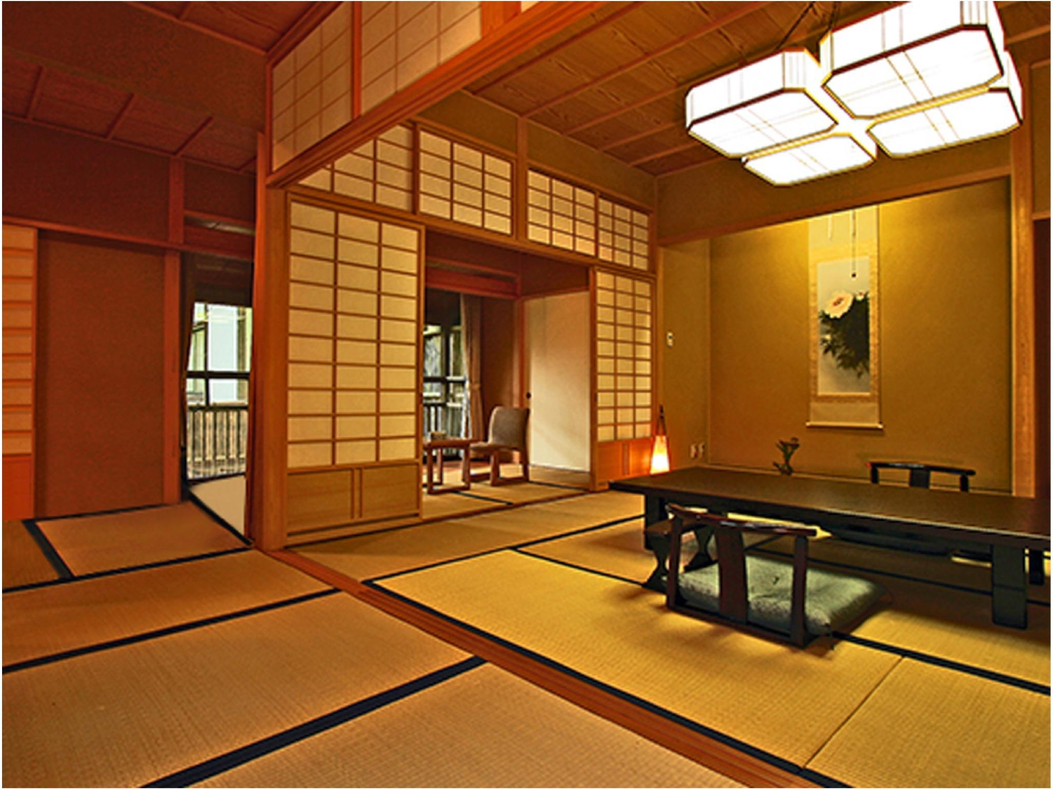 温泉付客室B 64平米|64平米 (Japanese-style Room with Hot Spring (Type B) )