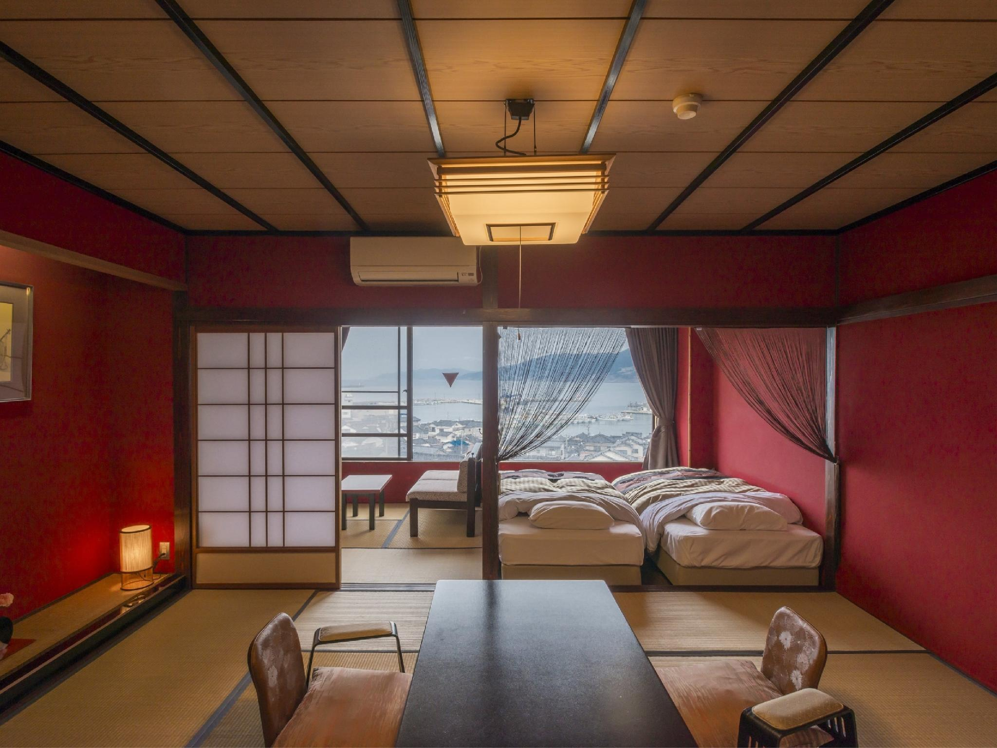 Japanese/Western-style Room (Urushi Type, Harbor View)