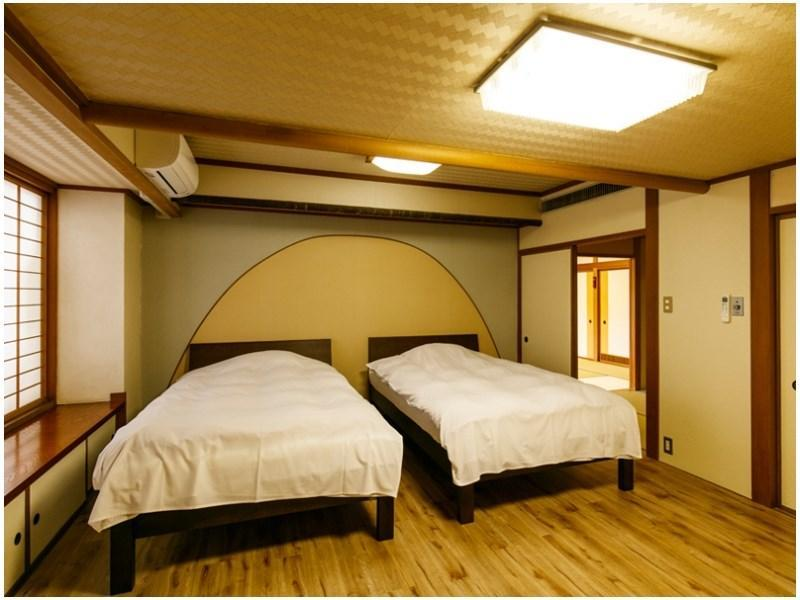 Deluxe Japanese-style Room (Twin Beds, Type B, Fuji-no-To Wing)
