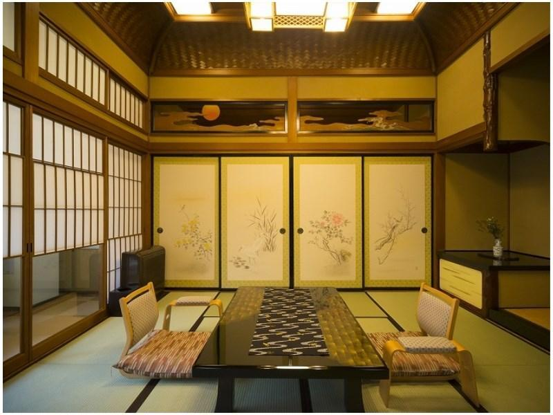 Japanese-style Room with Open-air Bath + Garden  (Shofuan Wing) (*Non-smoking from 2020/10/1)
