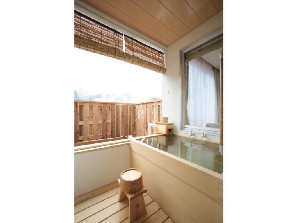 Japanese/Western-style Room with Open-air Bath - Guestroom Nozawa Grand Hotel