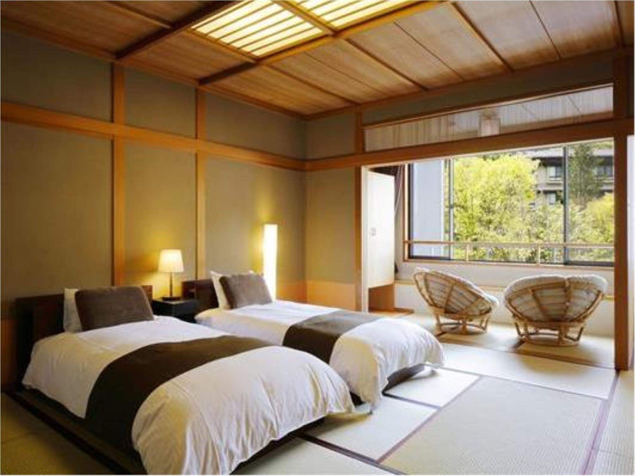和式房+日式矮床 (Modern Japanese-style Room (Japanese Bed/s))