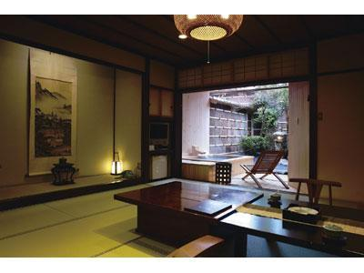 特别房(和式房+露天风吕) (Special Japanese-style Room with Open-air Bath)