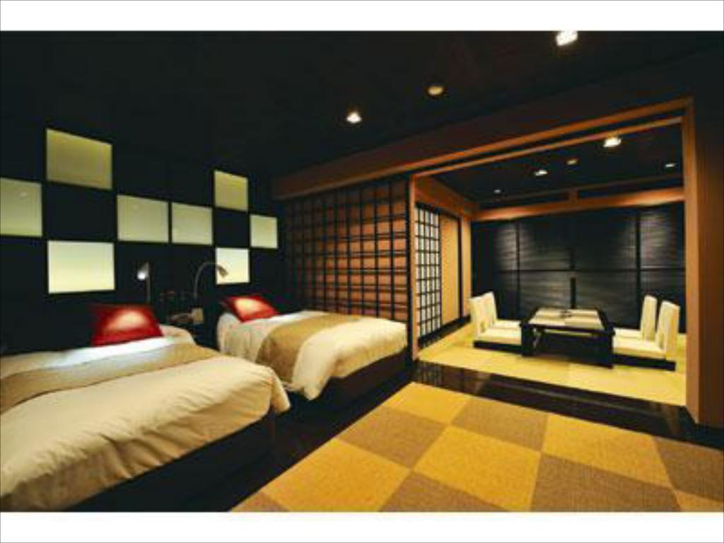 Asian Deluxe Japanese/Western-style Room (2 Beds, Main Building/South Wing) - Guestroom