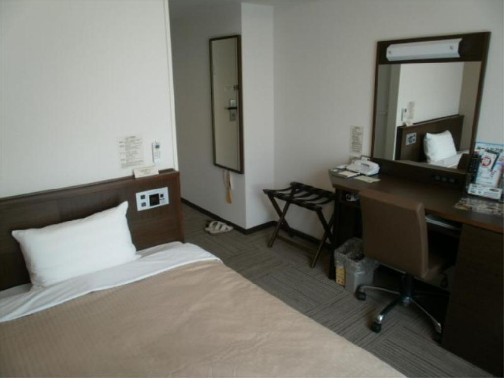 Single Room - Guestroom Hotel Route-Inn Toyotajinnaka