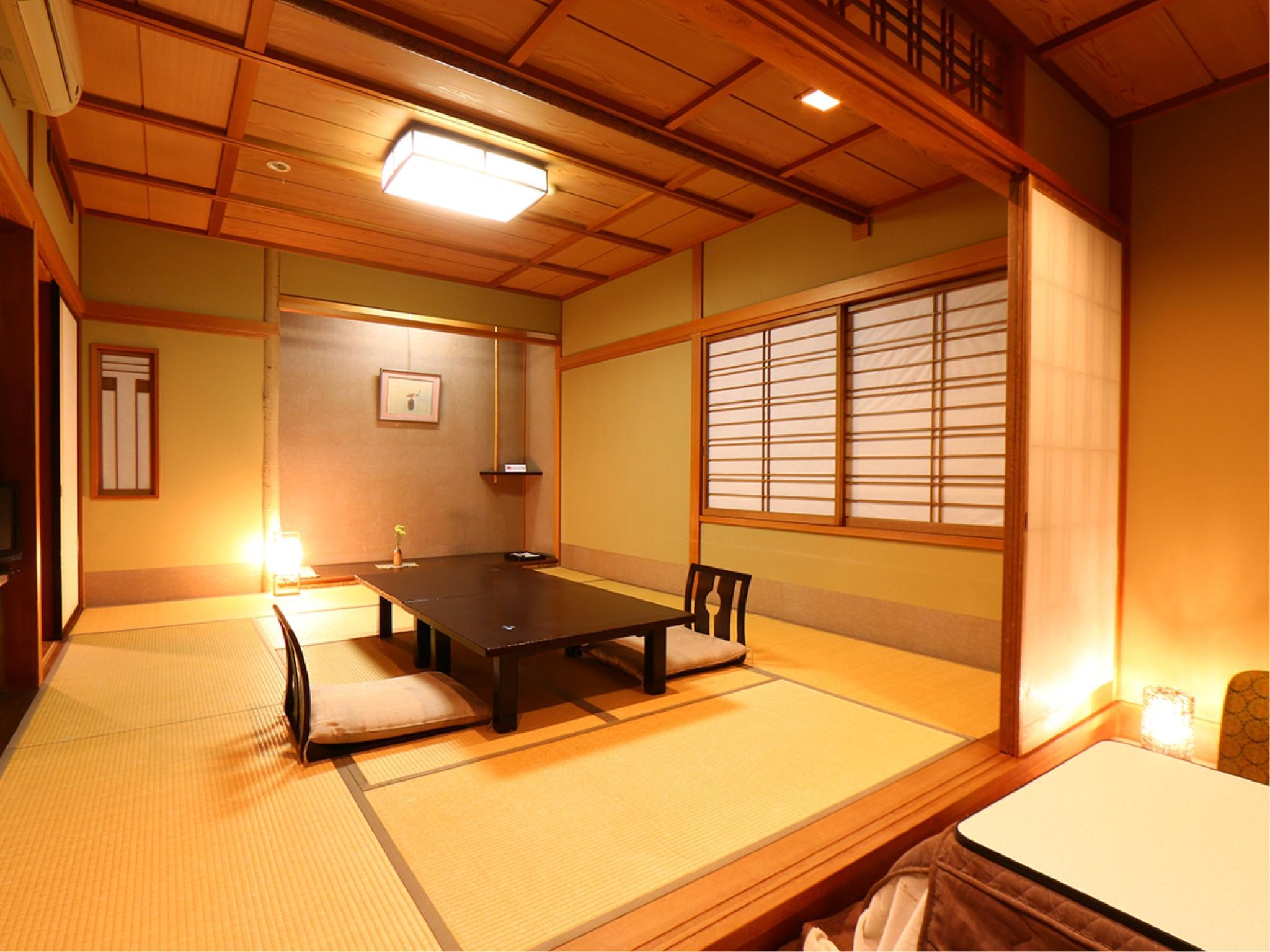 和式房+宽走廊 ※儿童不可入住 (Japanese-style Room with Hiroen Space *No children)