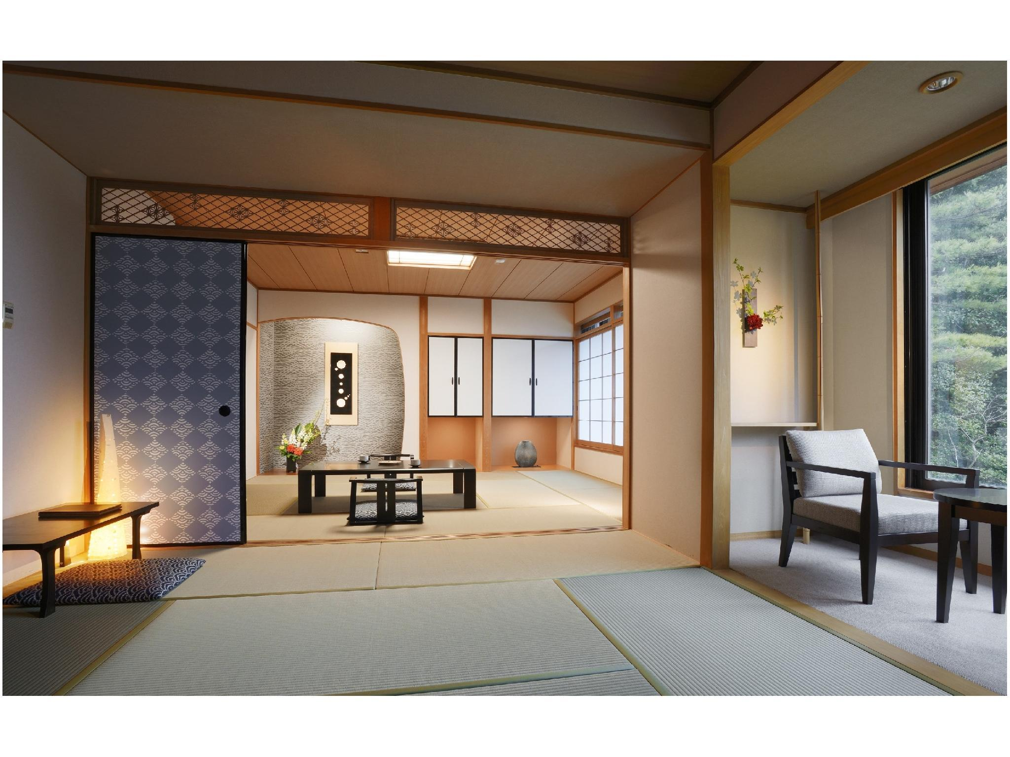 The KATAGAMI|84.1平米+次の間 (The Katagami Japanese-style Room)