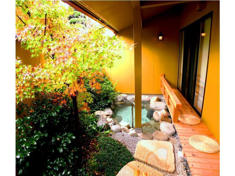 Japanese/Western-style Room with Open-air Bath (2 Beds, Annex)