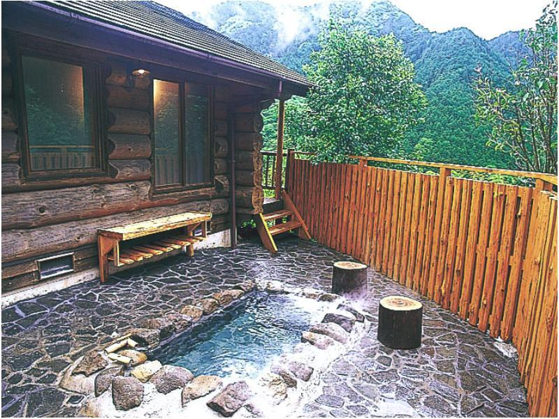 Cottage with Open-air Bath (Log Type)