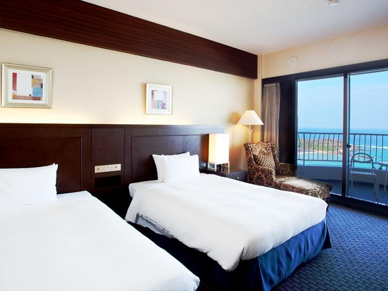 双人双床房 (Twin Room (Ocean View, Ocean Tower))