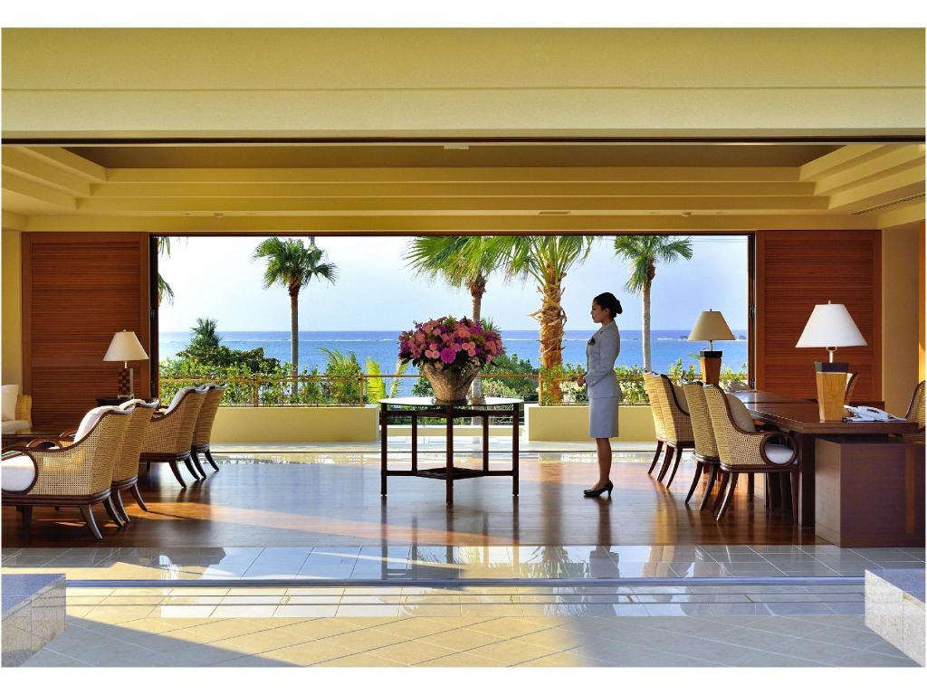 Lobby The Uza Terrace Beach Club Villas