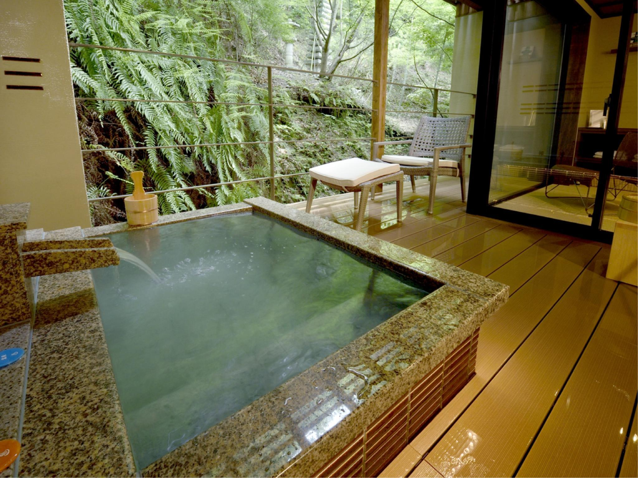 Japanese-style Room with Open-air Bath & Mountain Terrace