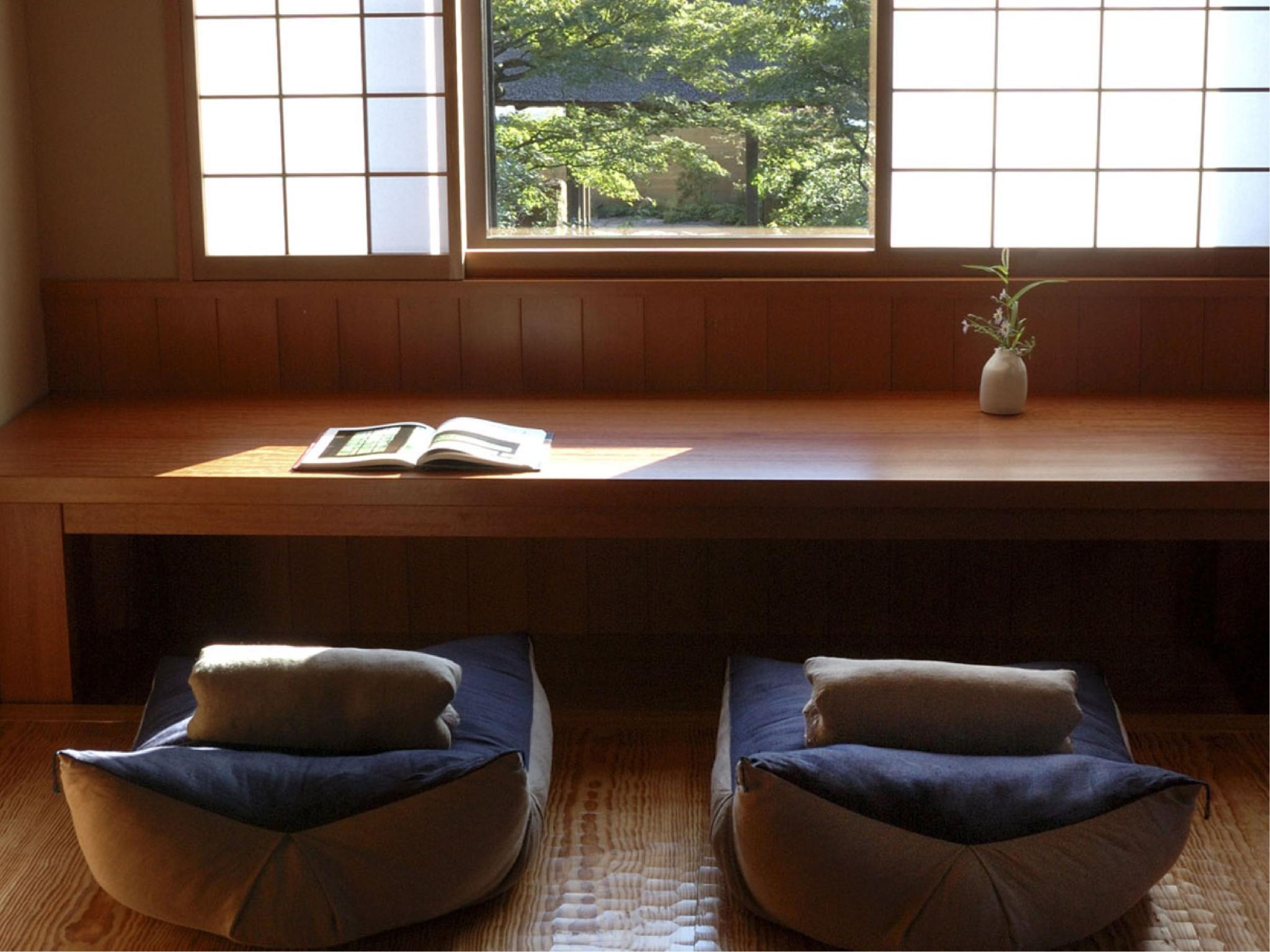 龜峰菴 和式房+溫泉放流式露天風呂 (Japanese-style Room with Open-air Bath (Kihoan Type))
