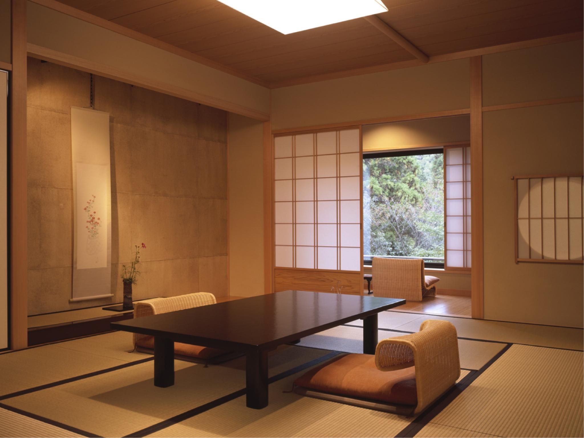 Japanese-style Room with Open-air Hot Spring Bath (Kihoan Type)