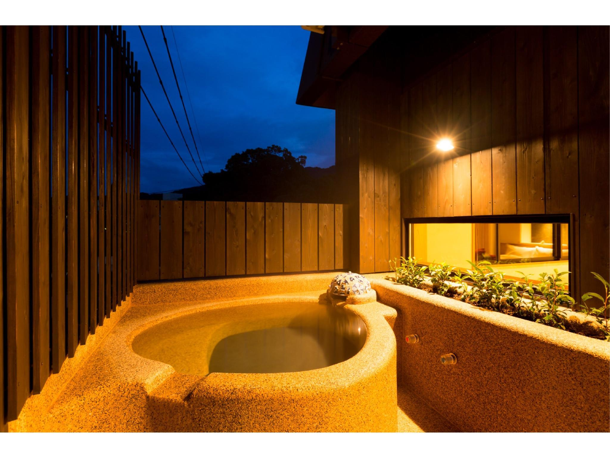 Japanese/Western-style Room with Open-air Bath (Ayame Type) *Refurbished Aug. 2015