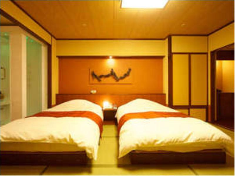 和室 (Modern Japanese-style Twin Room (Main Building))
